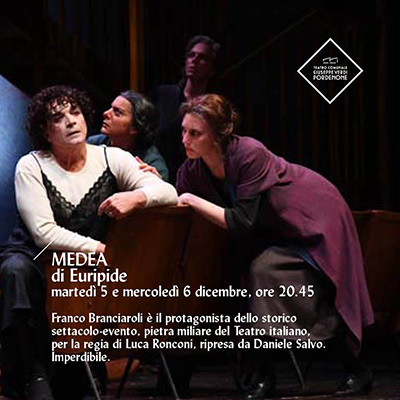 MEDEA al Teatro Verdi di Pordenone
