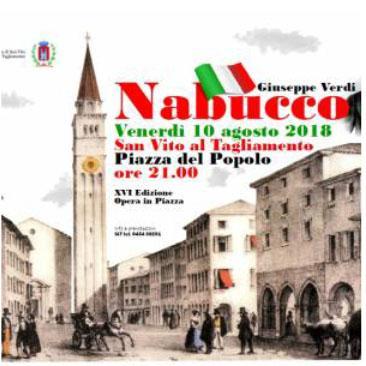 Opera in piazza, Nabucco - San Vito
