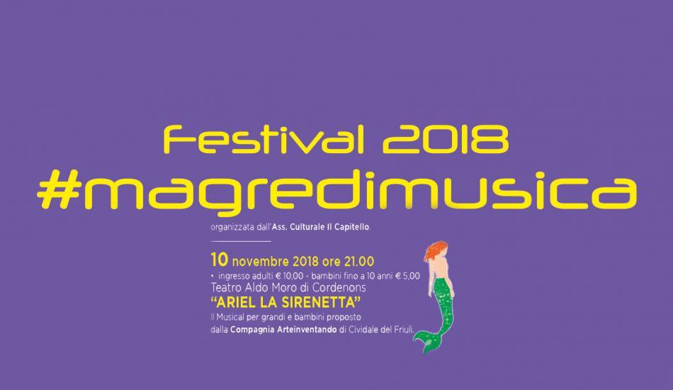 Magredimuscia, Ariel la Sirenetta - Centro Culturale Aldo Moro - Cordenons