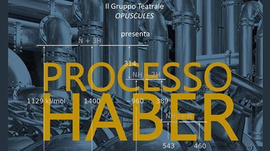 Processo Haber, Scienza in Scena - Auditorium Concordia - Pordenone