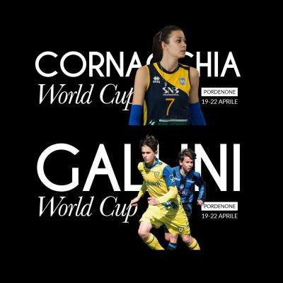 Gallini World Cup e Cornacchia World Cup - Pordenone