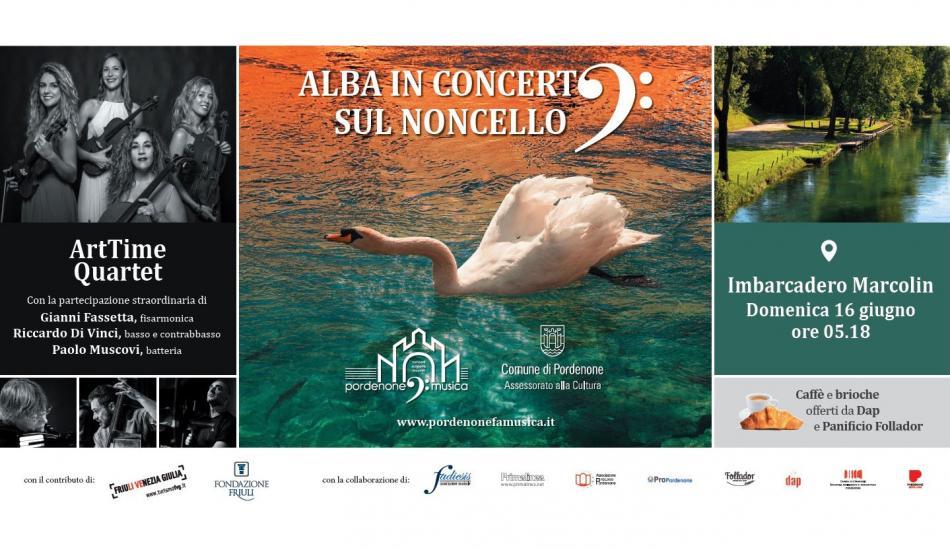 Alba in concerto sul Noncello - Pordenone