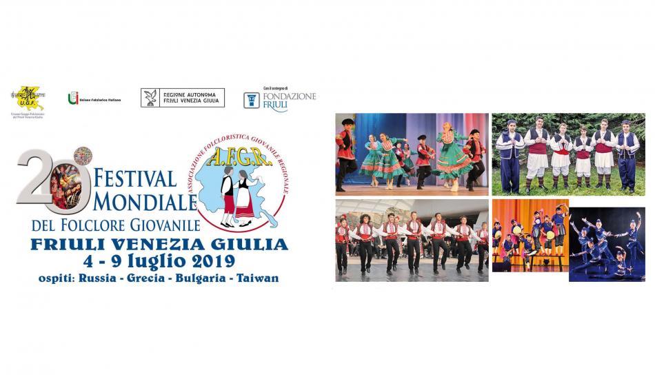 XX Festival mondiale del folclore giovanile Fvg - Roveredo - Udine