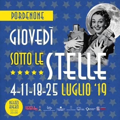 Giovedì sotto le stelle - Piazza XX Settembre - Pordenone
