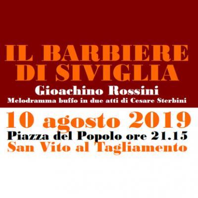 Opera in piazza, Il barbiere di Siviglia - Tolmezzo - San Vito al Tagliamento