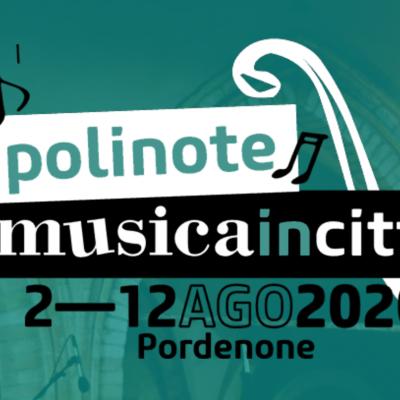 POLINOTE MUSICA IN CITTÀ 2020
