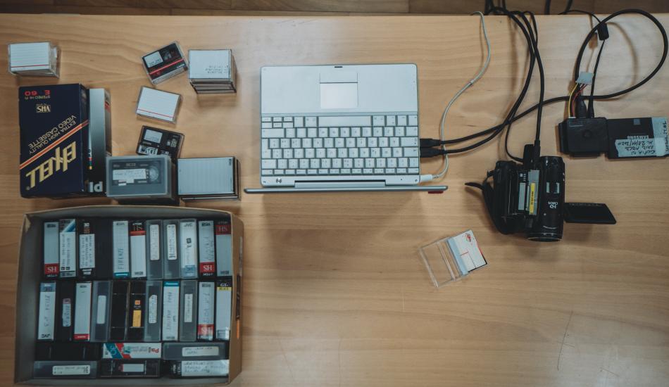Riversamento in digitale di vecchi supporti